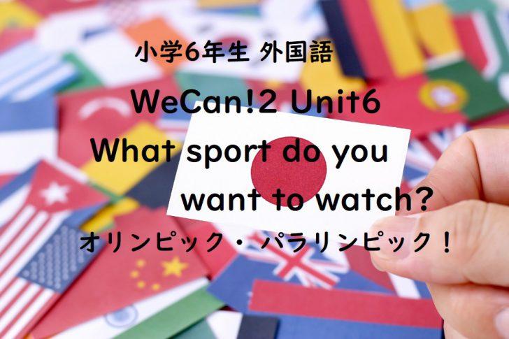 WeCan!2 Unit6
