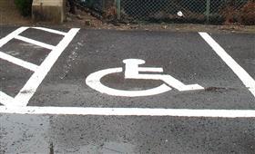 妊婦でも駐車できる優先駐車場