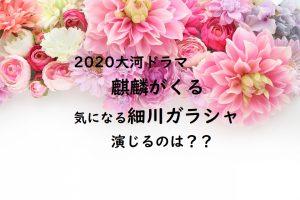 2020大河ドラマ麒麟がくる細川ガラシャ