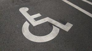 妊婦も使える優先駐車場