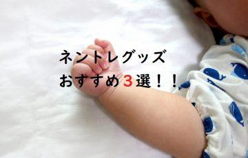 ネントレに役立つグッズおすすめ3選!!
